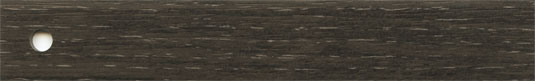 ABS, Oberfläche Holzpore, Lack seiden-matt