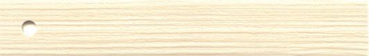 ABS, Oberfläche sanfte Holzpore, Lack stumpf-matt