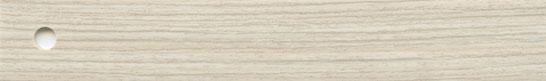 ABS, Oberfläche sanfte Holzpore, Lack Novo-Matt