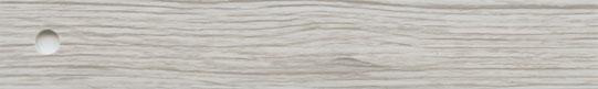 ABS, Oberfläche sanfte Holzpore, Lack seiden-matt