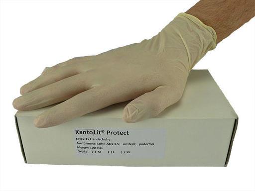 KantoLit® Protect Latex 1x Handschuhe